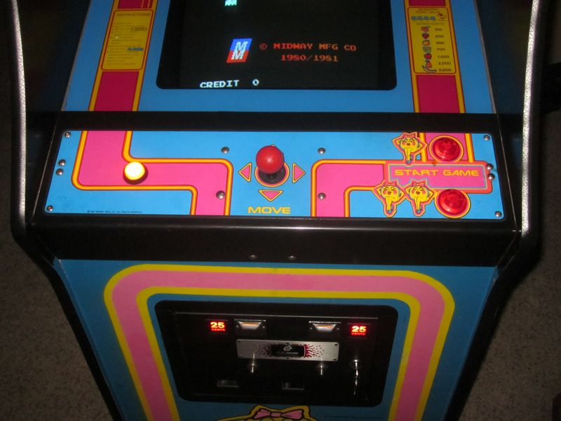 Ms Pacman Restoration
