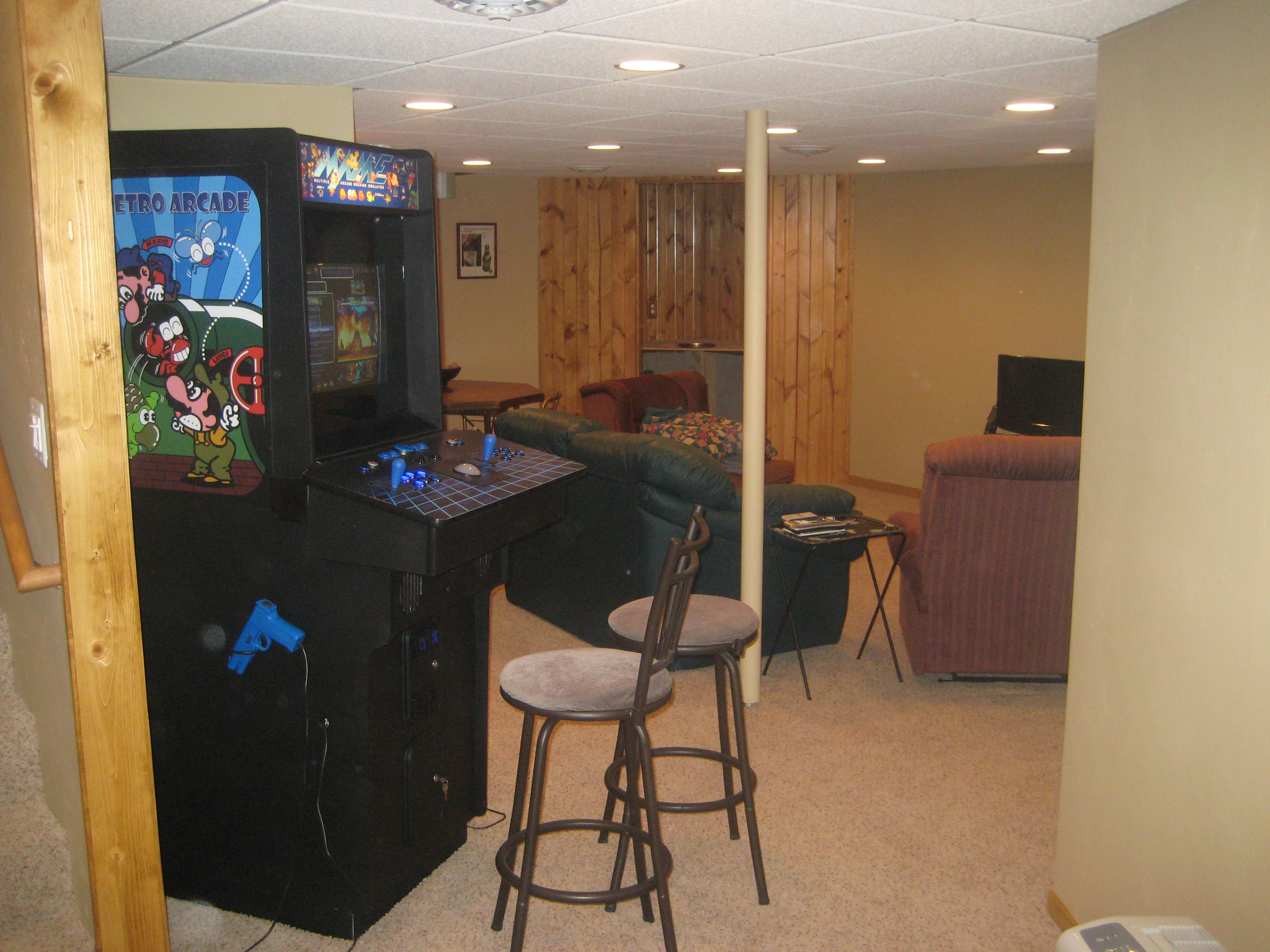 The Newly Finished Ronsman Basement